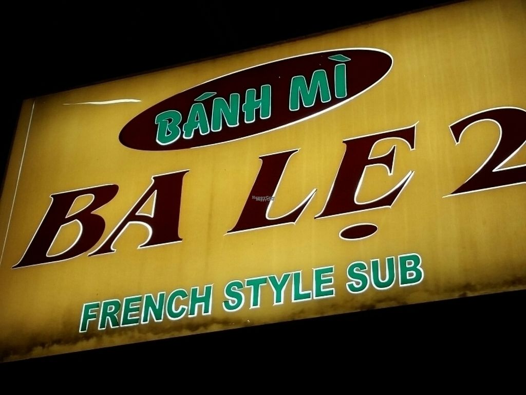 "Photo of Banh Mi Ba Le  by <a href=""/members/profile/eric"">eric</a> <br/>signage <br/> August 14, 2016  - <a href='/contact/abuse/image/61149/168439'>Report</a>"