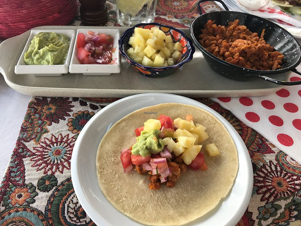 """Photo of Origen  by <a href=""""/members/profile/Jess1ca"""">Jess1ca</a> <br/>vegan Mexican tacos <br/> July 8, 2017  - <a href='/contact/abuse/image/61152/277833'>Report</a>"""