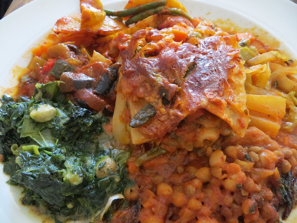 """Photo of Cafe am Schloss  by <a href=""""/members/profile/NatalieBlanc"""">NatalieBlanc</a> <br/>Vegan Lasagna with curries <br/> July 9, 2017  - <a href='/contact/abuse/image/61156/278138'>Report</a>"""