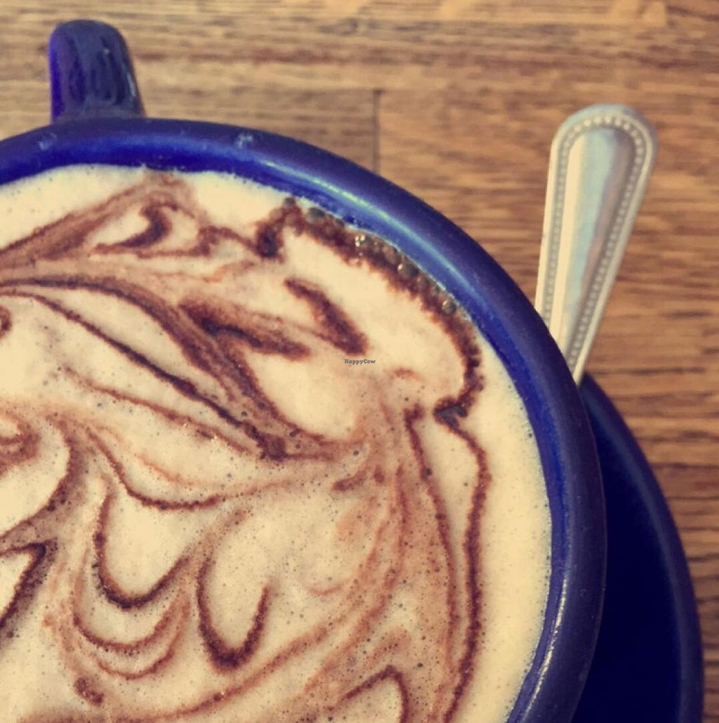 """Photo of Bottletree Bakery  by <a href=""""/members/profile/natalie_uzee"""">natalie_uzee</a> <br/>Hot cocoa with soy milk  <br/> July 26, 2015  - <a href='/contact/abuse/image/61157/111072'>Report</a>"""