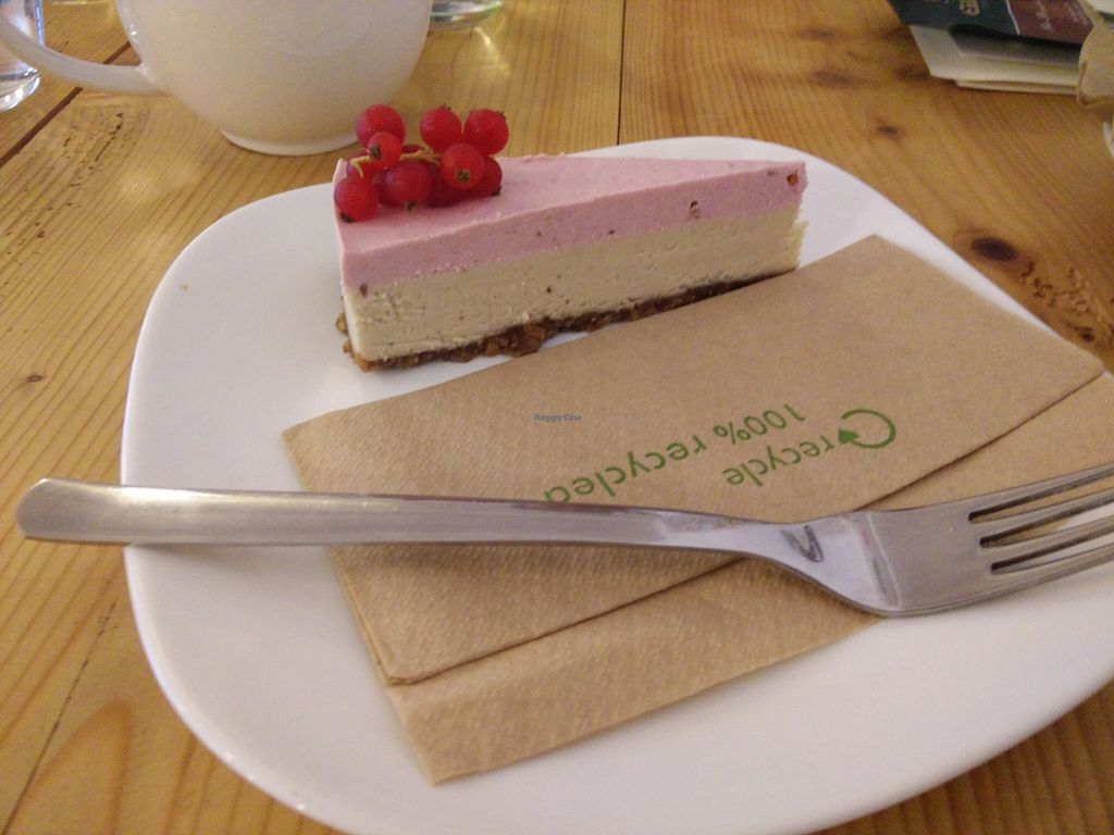 """Photo of Schondorf Bio Cafe  by <a href=""""/members/profile/Meaks"""">Meaks</a> <br/>Vegan Cake! <br/> September 19, 2015  - <a href='/contact/abuse/image/61180/118443'>Report</a>"""