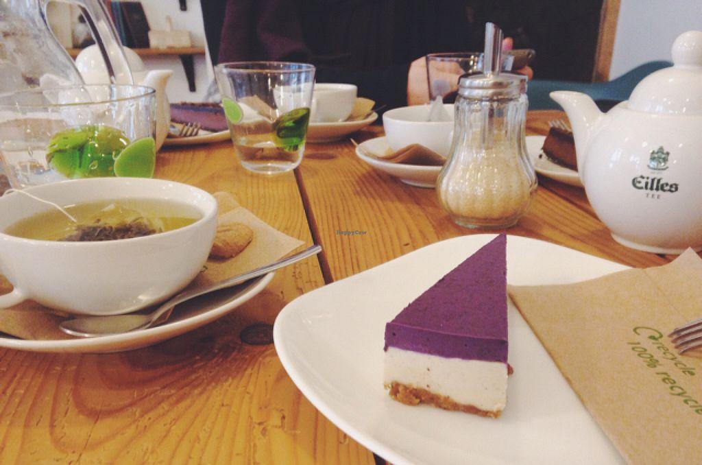 """Photo of Schondorf Bio Cafe  by <a href=""""/members/profile/kristinarollo"""">kristinarollo</a> <br/>tea and cakes <br/> June 20, 2016  - <a href='/contact/abuse/image/61180/155067'>Report</a>"""