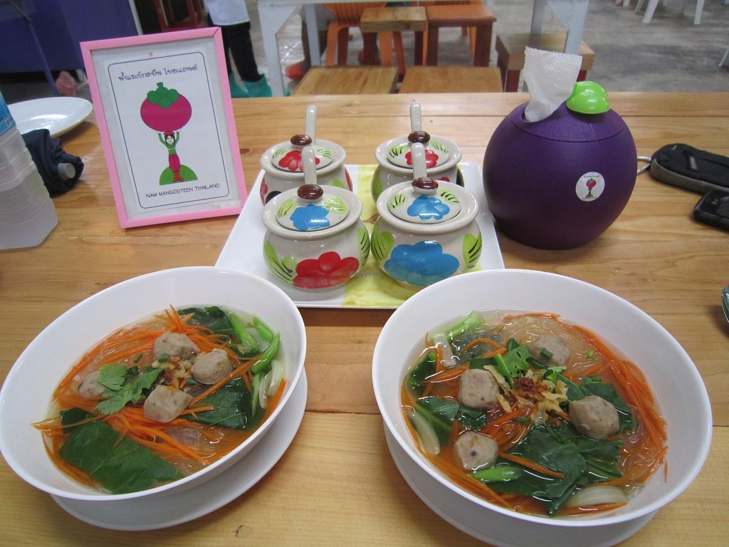 """Photo of CLOSED: Nam Mangosteen Thailand   by <a href=""""/members/profile/IanSmith"""">IanSmith</a> <br/>very tasty soup <br/> September 26, 2015  - <a href='/contact/abuse/image/61185/119162'>Report</a>"""