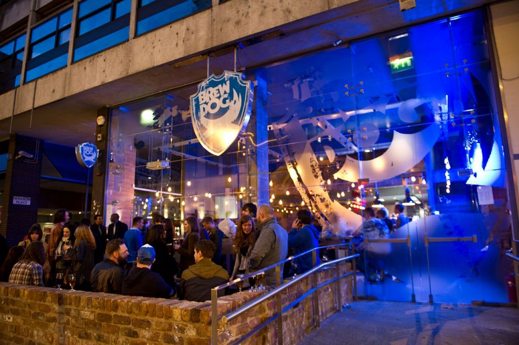 """Photo of BrewDog  by <a href=""""/members/profile/J-Veg"""">J-Veg</a> <br/>Night exterior <br/> July 29, 2015  - <a href='/contact/abuse/image/61207/111446'>Report</a>"""
