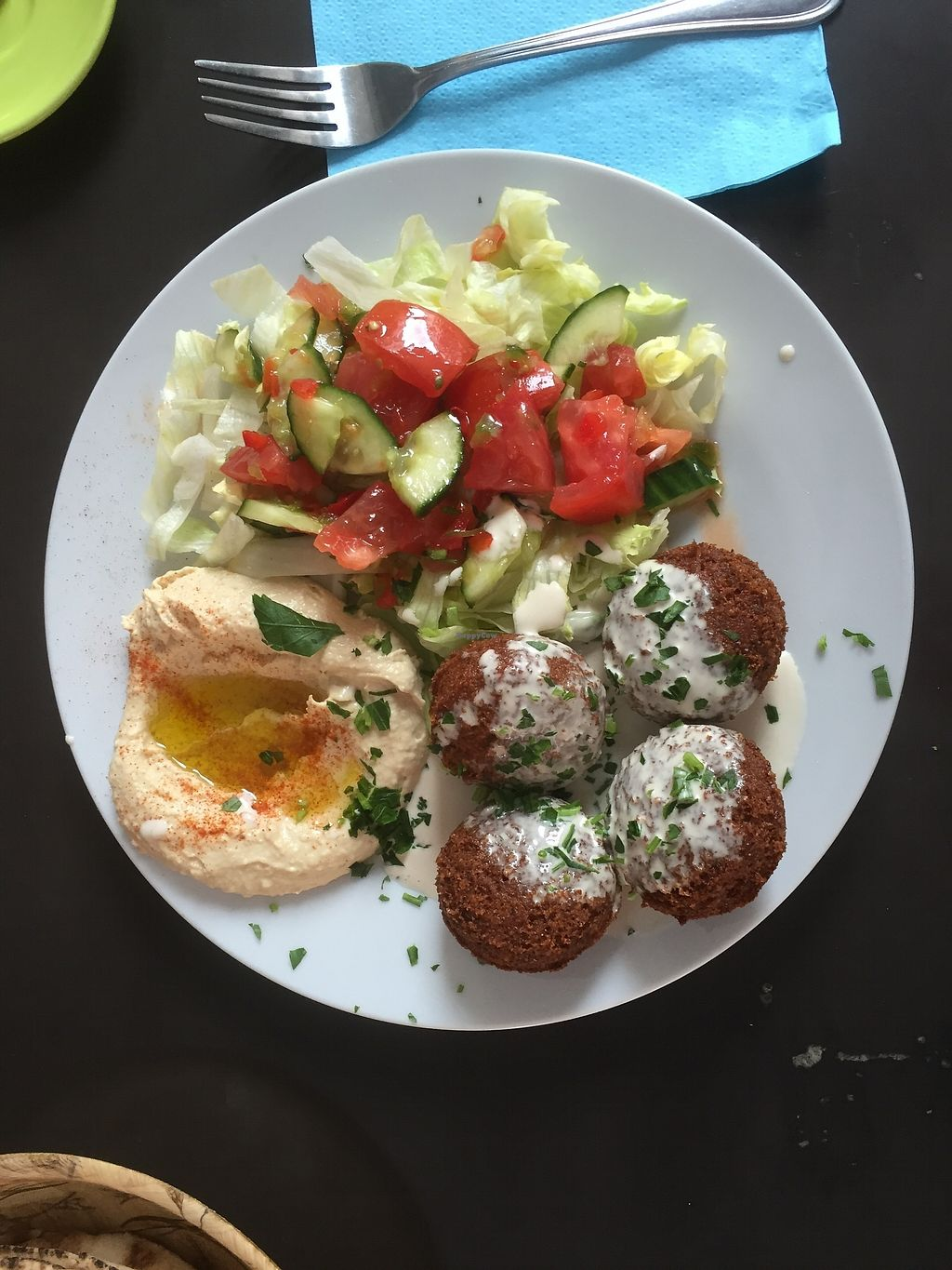 """Photo of VegeOrient  by <a href=""""/members/profile/iokan"""">iokan</a> <br/>Small falafel plate <br/> September 10, 2017  - <a href='/contact/abuse/image/61214/302852'>Report</a>"""