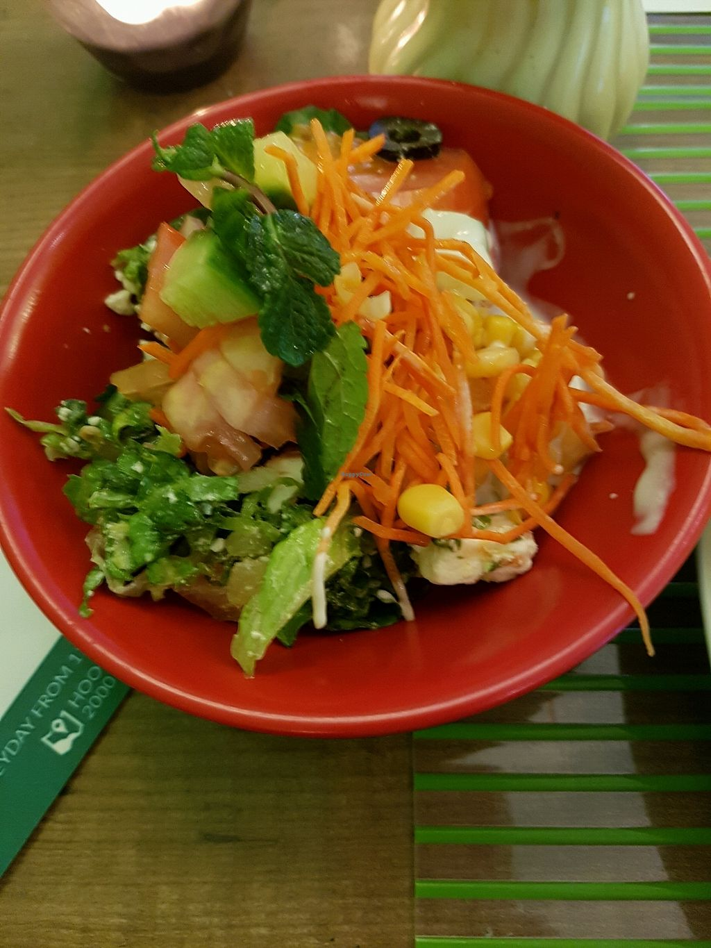 """Photo of VegeOrient  by <a href=""""/members/profile/HarleyColes"""">HarleyColes</a> <br/>Salad Bar <br/> December 28, 2017  - <a href='/contact/abuse/image/61214/340228'>Report</a>"""