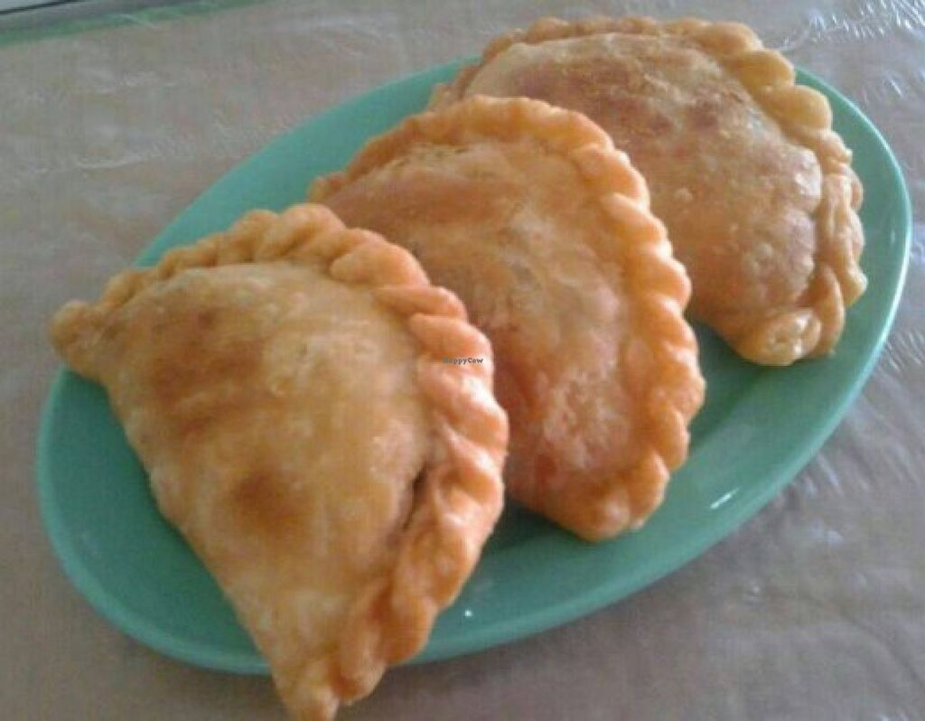 """Photo of Lai's Brother Cafe Vegetarian Stall  by <a href=""""/members/profile/community"""">community</a> <br/>empanadas  <br/> August 3, 2015  - <a href='/contact/abuse/image/61233/112155'>Report</a>"""