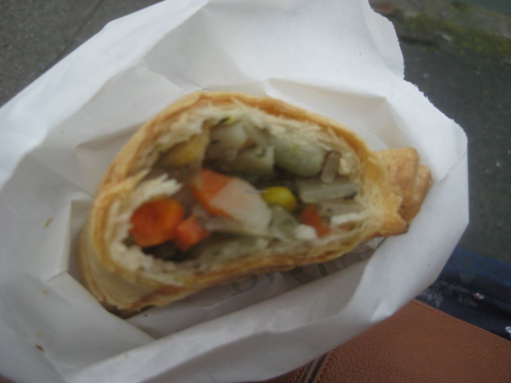 """Photo of Pengenna Pasties  by <a href=""""/members/profile/jennyc32"""">jennyc32</a> <br/>Vegetable pasty (vegan) <br/> July 28, 2015  - <a href='/contact/abuse/image/61238/111326'>Report</a>"""