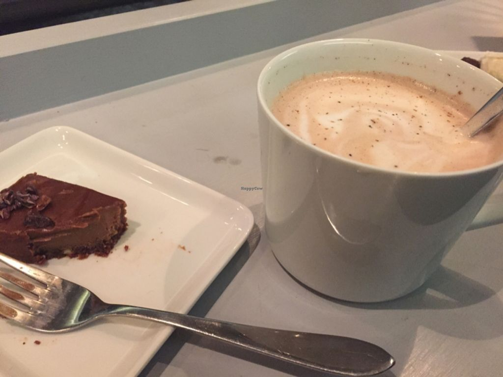 """Photo of Open New Doors  by <a href=""""/members/profile/Kittybiscuit"""">Kittybiscuit</a> <br/>hot chocolate and cake <br/> December 14, 2015  - <a href='/contact/abuse/image/61245/128522'>Report</a>"""