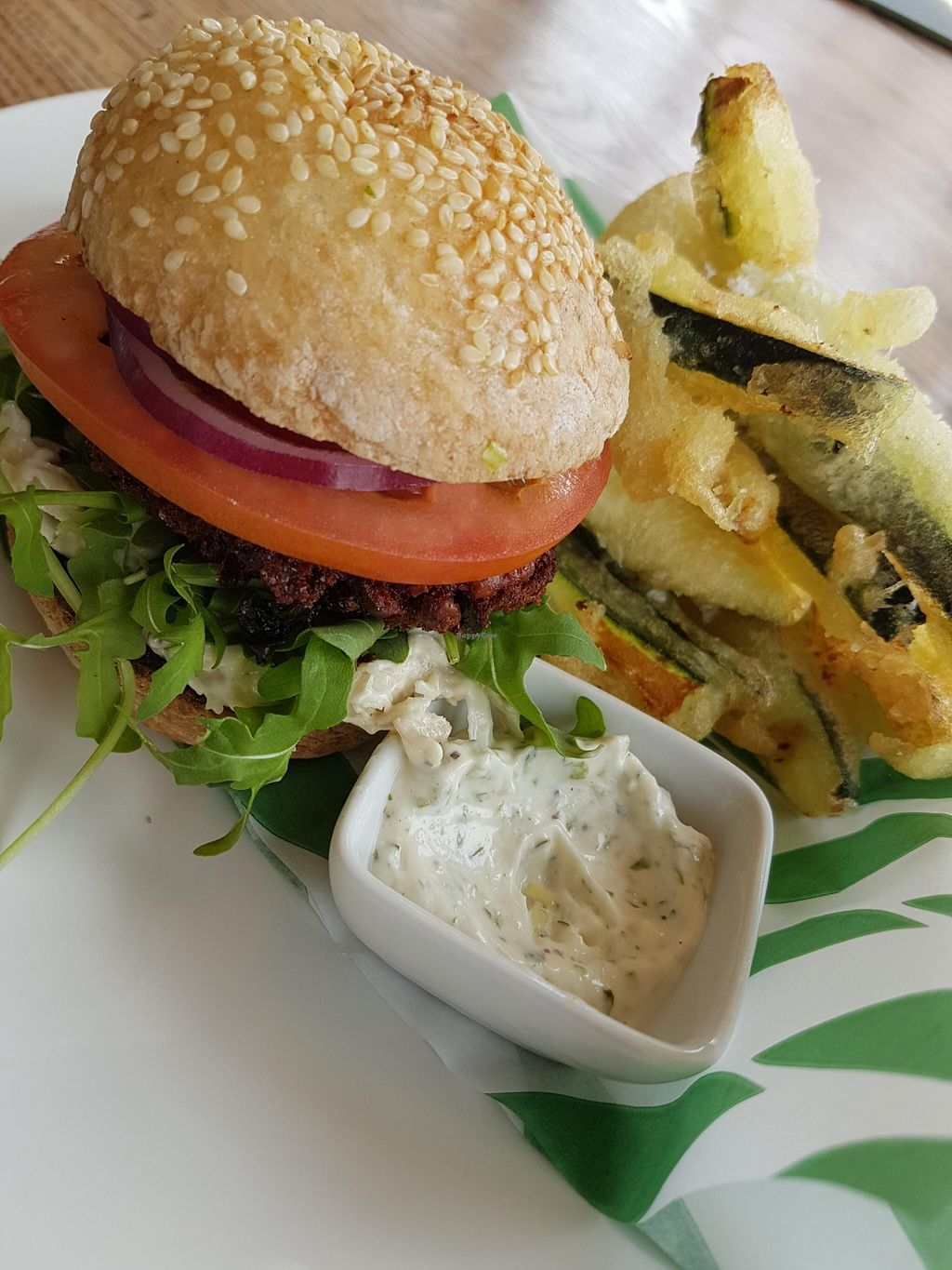 "Photo of CLOSED: Rootcandi  by <a href=""/members/profile/kennyp353"">kennyp353</a> <br/>Beetroot burger, courgette fries, garlic aioli. Simple food done well <br/> May 3, 2016  - <a href='/contact/abuse/image/61310/147297'>Report</a>"