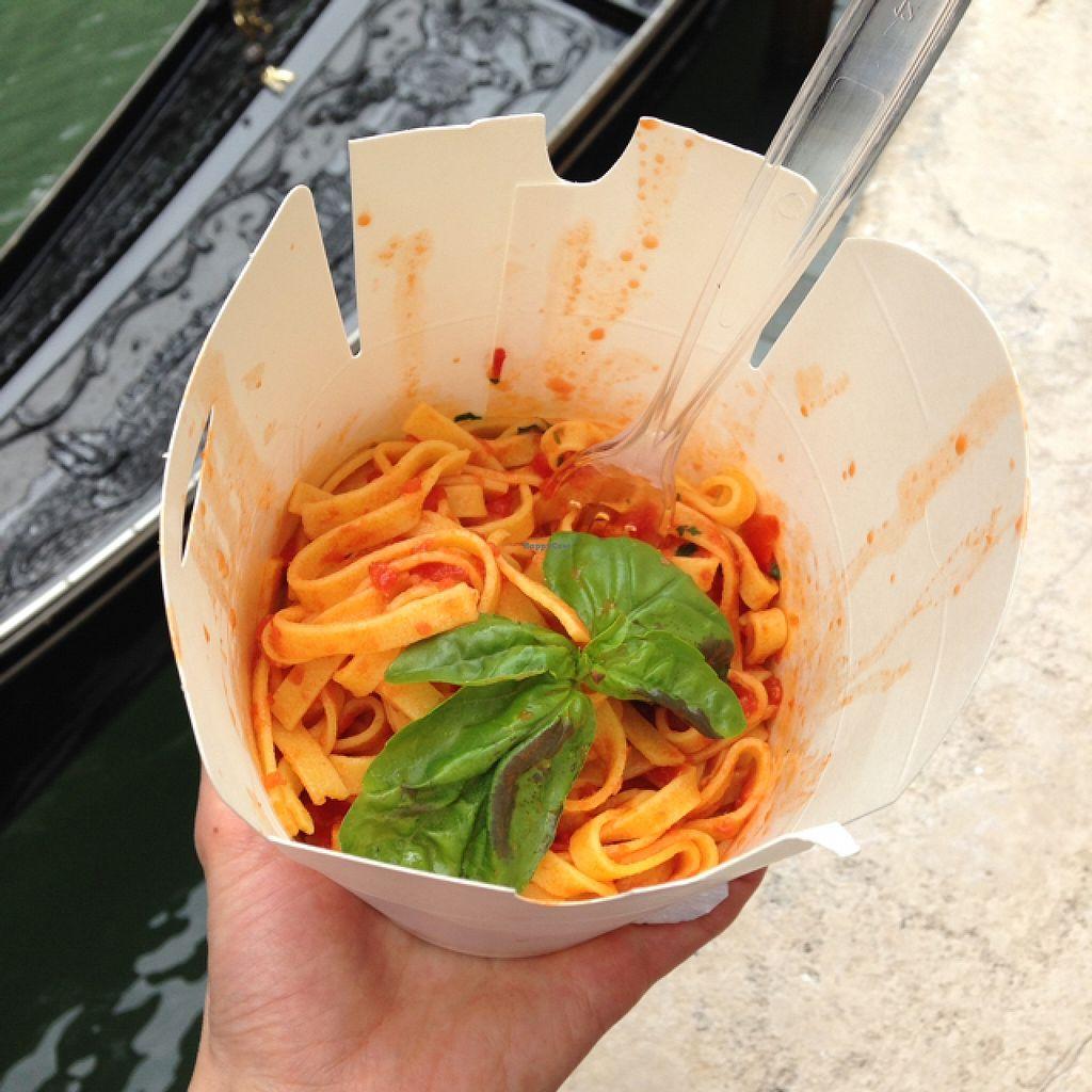 "Photo of Dal Moro's Fresh Pasta To Go  by <a href=""/members/profile/imoimoimo"">imoimoimo</a> <br/>pasta pomodoro  <br/> May 9, 2016  - <a href='/contact/abuse/image/61317/148161'>Report</a>"