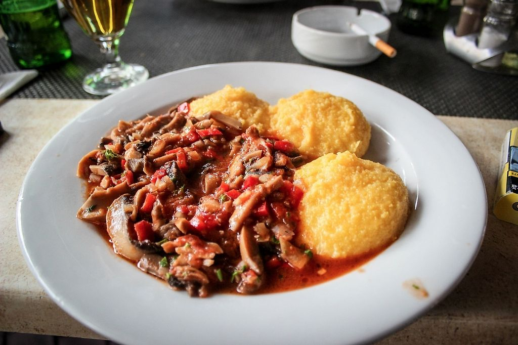 """Photo of Casa Veche  by <a href=""""/members/profile/SueClesh"""">SueClesh</a> <br/>polenta with mushroom stew <br/> May 8, 2017  - <a href='/contact/abuse/image/61322/257212'>Report</a>"""