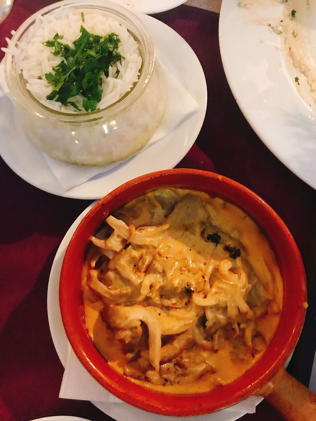 """Photo of Aubergine  by <a href=""""/members/profile/VinnieHTHoang"""">VinnieHTHoang</a> <br/>my favorite - plenteous mushrooms with a side of jasmine rice!!! <br/> August 11, 2017  - <a href='/contact/abuse/image/61324/291586'>Report</a>"""