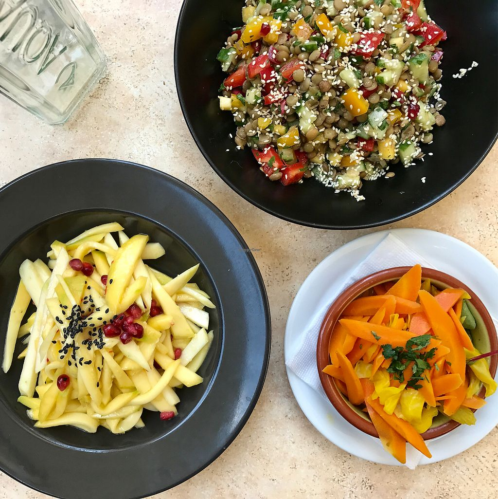 """Photo of Aubergine  by <a href=""""/members/profile/thecharlotte"""">thecharlotte</a> <br/>Many salad options  <br/> August 20, 2017  - <a href='/contact/abuse/image/61324/294882'>Report</a>"""