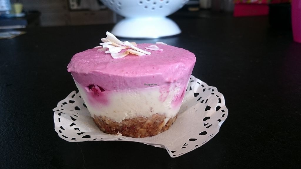 """Photo of Granny Smith  by <a href=""""/members/profile/loloford"""">loloford</a> <br/>Delicious Raw vegan cheesecake <br/> September 29, 2015  - <a href='/contact/abuse/image/61330/119576'>Report</a>"""