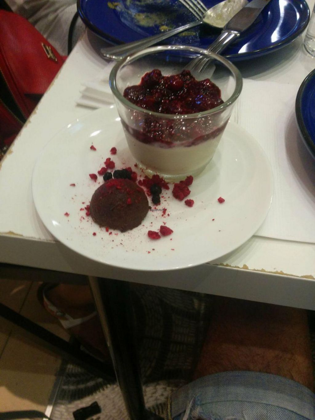 """Photo of Maya Cafe  by <a href=""""/members/profile/FlokiTheCat"""">FlokiTheCat</a> <br/>Pannacotta with chia berry jam <br/> June 4, 2017  - <a href='/contact/abuse/image/61407/265572'>Report</a>"""