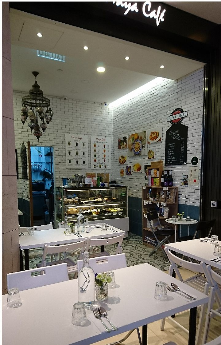 """Photo of Maya Cafe  by <a href=""""/members/profile/V-for-Vegan"""">V-for-Vegan</a> <br/>  <br/> March 26, 2018  - <a href='/contact/abuse/image/61407/376353'>Report</a>"""