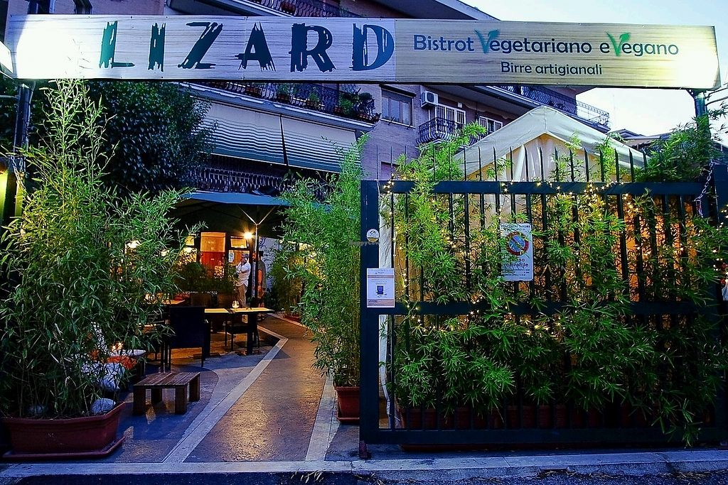 """Photo of Lizard  by <a href=""""/members/profile/AlessandroPalmesi"""">AlessandroPalmesi</a> <br/>the entrance from the street <br/> October 29, 2017  - <a href='/contact/abuse/image/61419/319900'>Report</a>"""