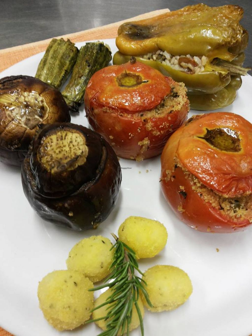"Photo of Podere Capanne  by <a href=""/members/profile/veg-geko"">veg-geko</a> <br/>Stuffed vegetables <br/> August 1, 2015  - <a href='/contact/abuse/image/61442/111879'>Report</a>"