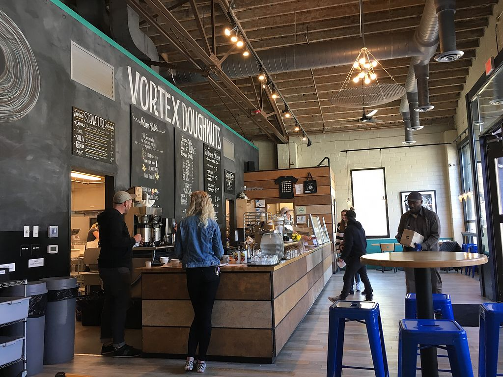 "Photo of Vortex Doughnuts  by <a href=""/members/profile/janbee"">janbee</a> <br/>Interior <br/> April 17, 2018  - <a href='/contact/abuse/image/61456/387396'>Report</a>"