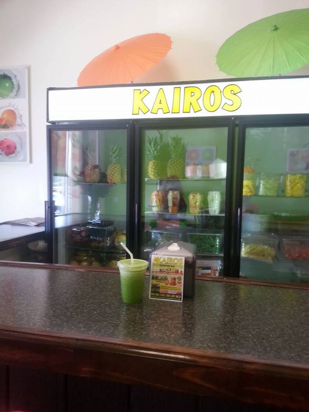 """Photo of Kairos Nutrition Bar  by <a href=""""/members/profile/community"""">community</a> <br/>Kairos Nutrition Bar <br/> August 11, 2015  - <a href='/contact/abuse/image/61469/113121'>Report</a>"""