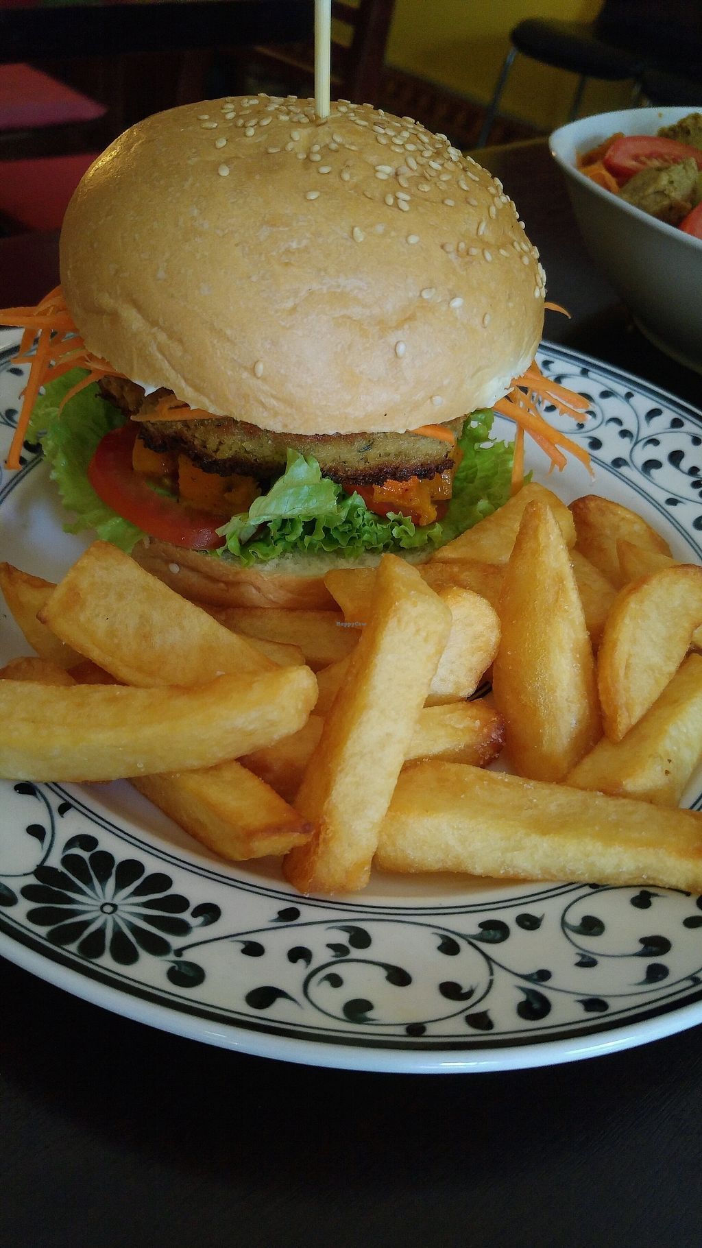 """Photo of Chookie's  by <a href=""""/members/profile/daveVN"""">daveVN</a> <br/>falafel burger <br/> September 8, 2017  - <a href='/contact/abuse/image/61478/302216'>Report</a>"""