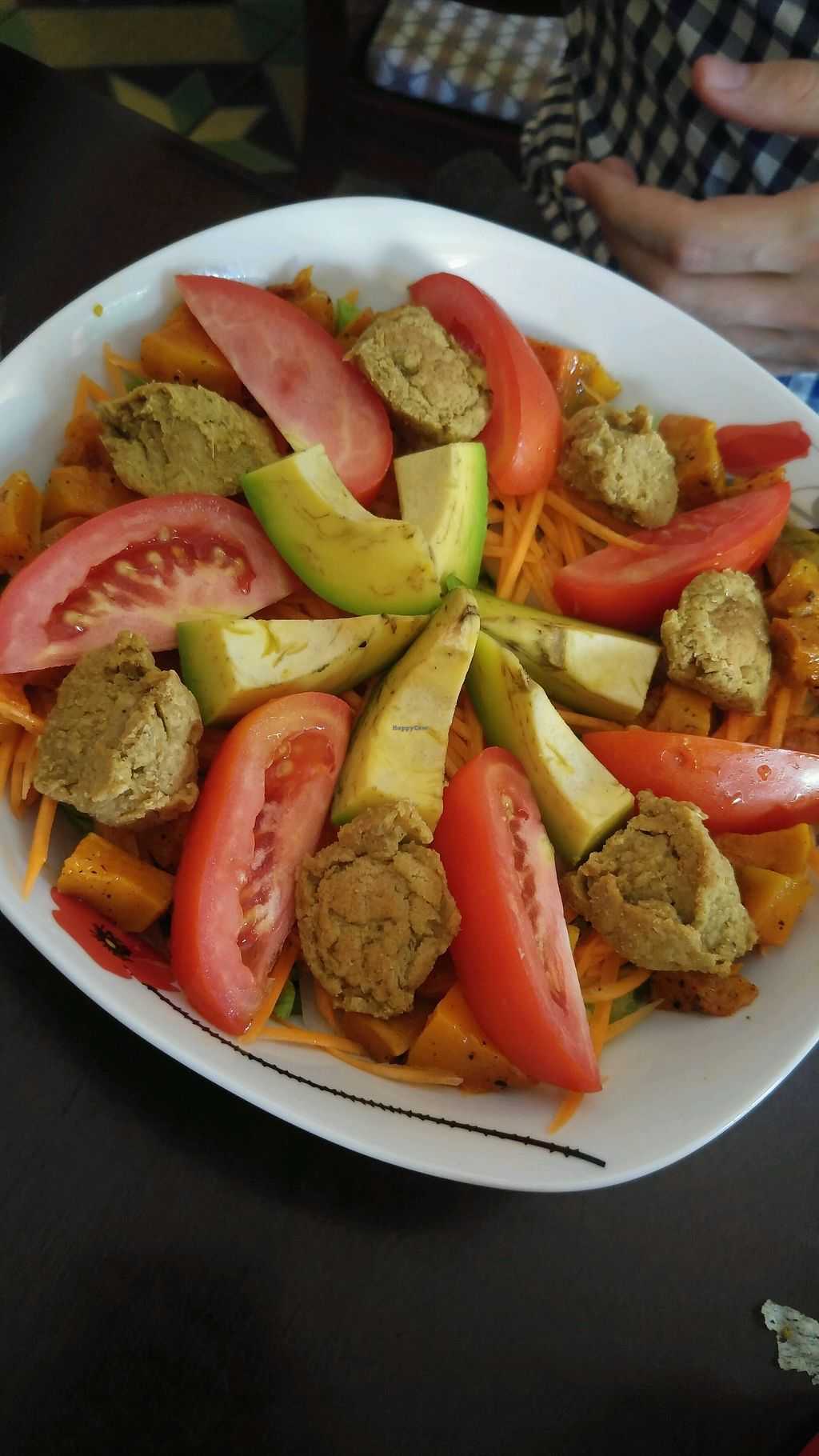 """Photo of Chookie's  by <a href=""""/members/profile/daveVN"""">daveVN</a> <br/>falafel salad <br/> September 8, 2017  - <a href='/contact/abuse/image/61478/302217'>Report</a>"""