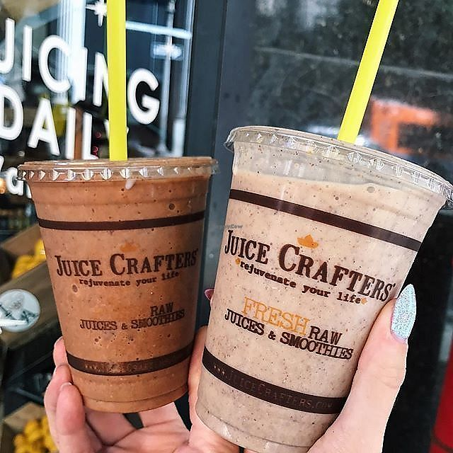 "Photo of Juice Crafters  by <a href=""/members/profile/JuiceCrafters"">JuiceCrafters</a> <br/>CRUNCHY MONKEY – cacao nibs, cacao powder, goji berries, walnuts, almond milk, cinnamon, vanilla, banana & dates <br/> December 11, 2017  - <a href='/contact/abuse/image/61480/334516'>Report</a>"