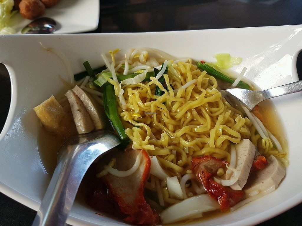 """Photo of Guan Im Veggie  by <a href=""""/members/profile/Peiyan"""">Peiyan</a> <br/>noodles prepared upon order <br/> December 28, 2017  - <a href='/contact/abuse/image/61487/339795'>Report</a>"""