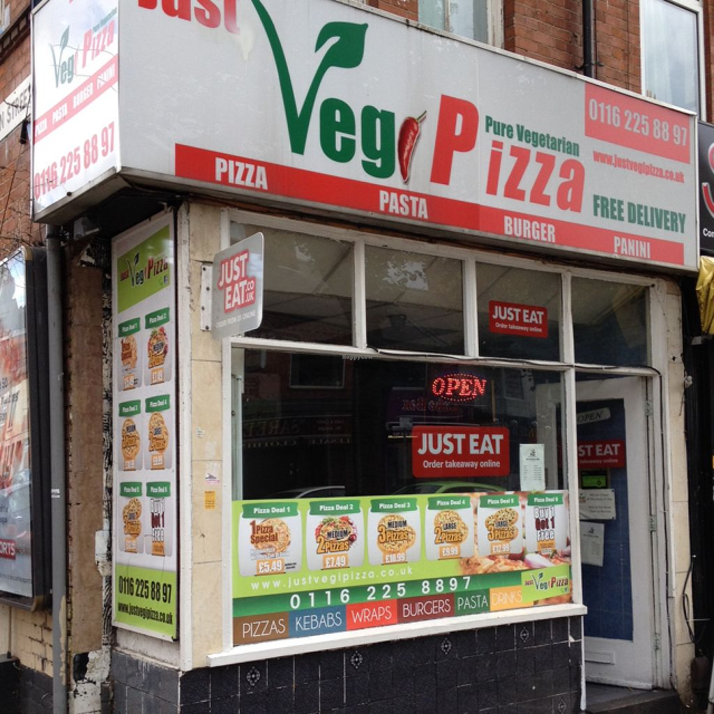 """Photo of Just Veg Pizza  by <a href=""""/members/profile/hack_man"""">hack_man</a> <br/>Outside <br/> August 6, 2015  - <a href='/contact/abuse/image/61494/112509'>Report</a>"""