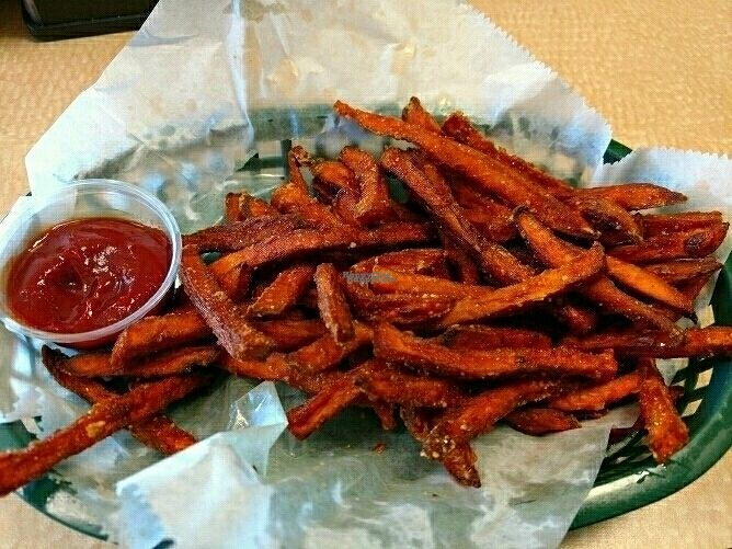 """Photo of Viva La Vegan  by <a href=""""/members/profile/nathanb"""">nathanb</a> <br/>Sweet potato fries <br/> October 1, 2016  - <a href='/contact/abuse/image/61498/179130'>Report</a>"""