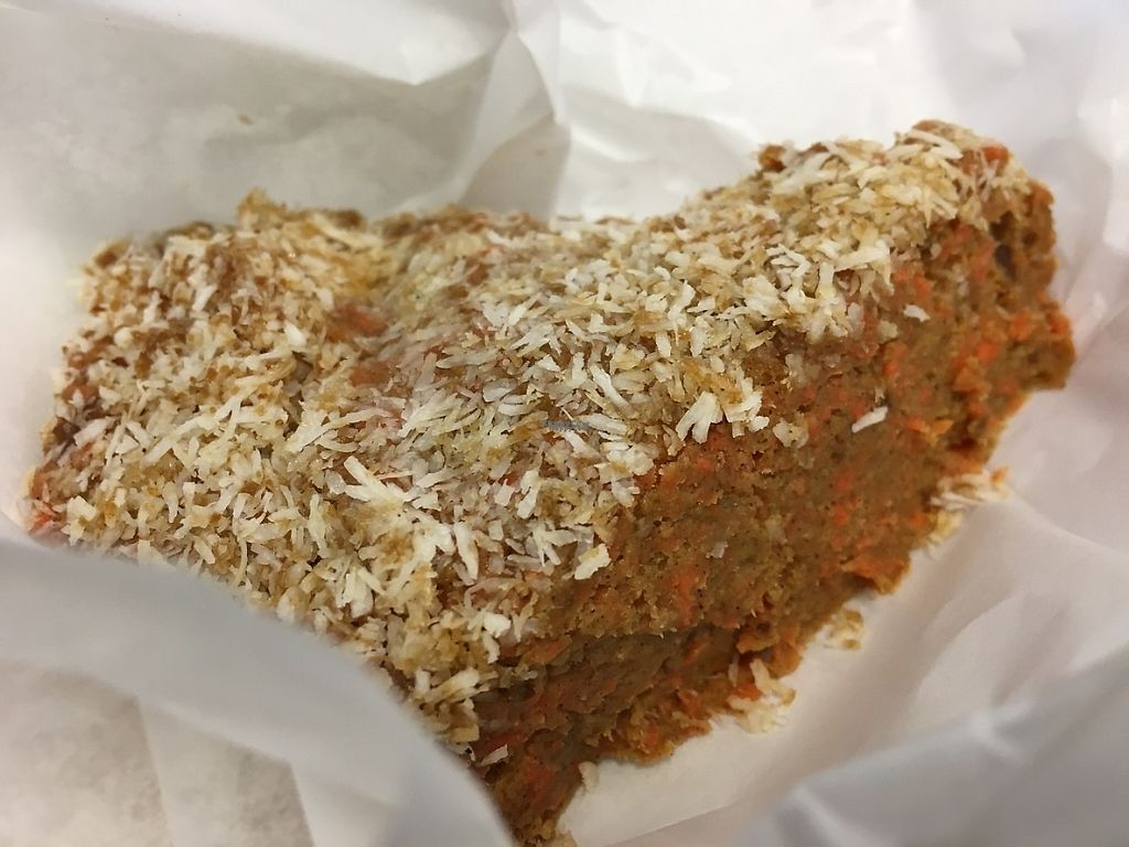 """Photo of Viva La Vegan  by <a href=""""/members/profile/cookiem"""">cookiem</a> <br/>Raw carrot cake <br/> February 21, 2017  - <a href='/contact/abuse/image/61498/228942'>Report</a>"""