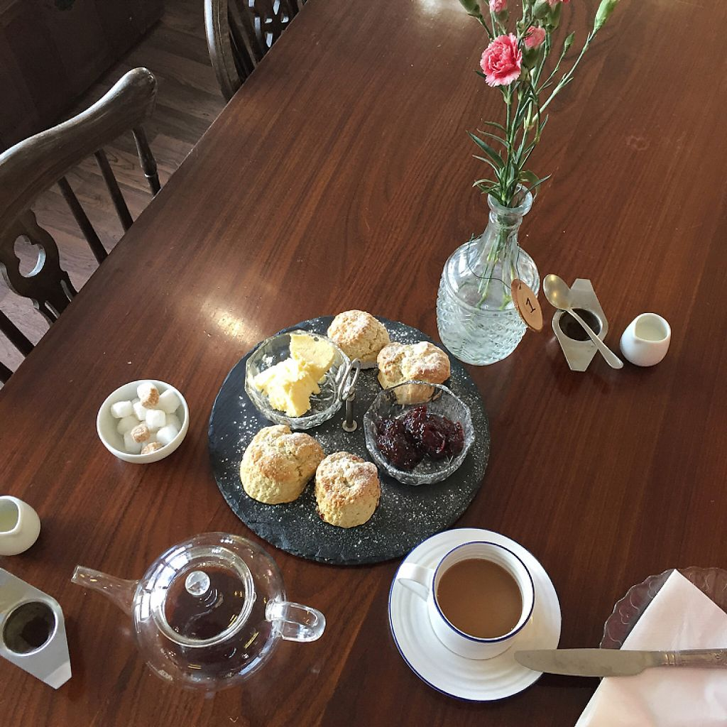 """Photo of Sun Pier House Tearooms  by <a href=""""/members/profile/LottyG"""">LottyG</a> <br/>gorgeous scones  <br/> March 14, 2017  - <a href='/contact/abuse/image/61519/236446'>Report</a>"""