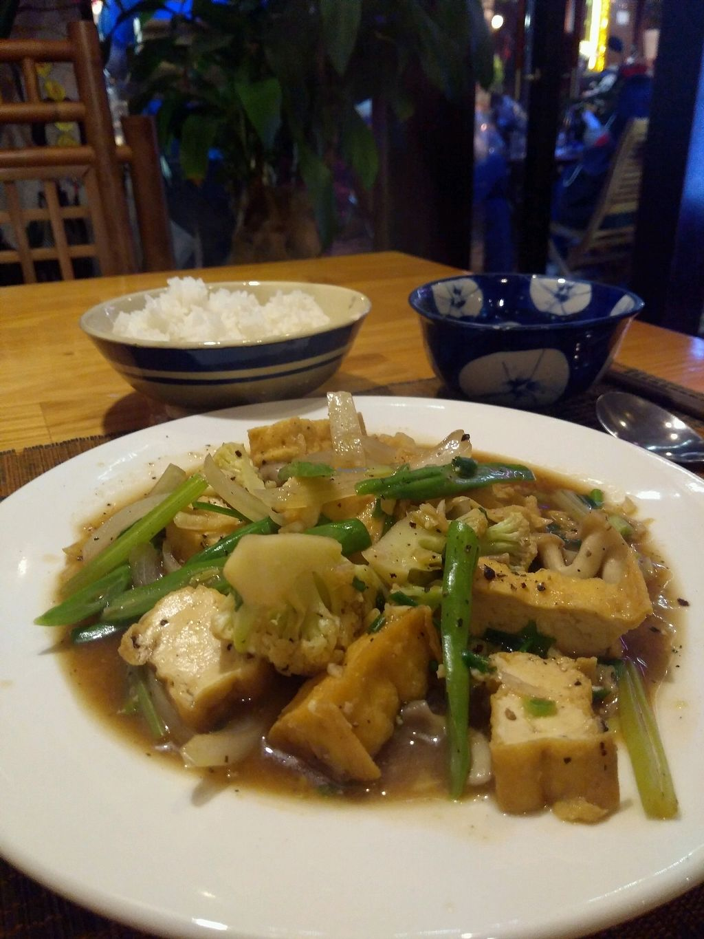 """Photo of Goc Ha Thanh  by <a href=""""/members/profile/world987"""">world987</a> <br/>Stir Fry Tofu with Garlic and Pepper <br/> January 7, 2018  - <a href='/contact/abuse/image/61523/343940'>Report</a>"""