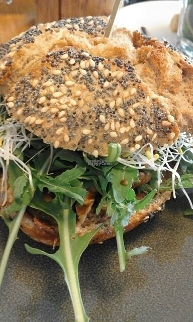 """Photo of Broodje Bewust  by <a href=""""/members/profile/v_mdj"""">v_mdj</a> <br/>sandwich with chutney and nuts <br/> August 27, 2016  - <a href='/contact/abuse/image/61543/171833'>Report</a>"""