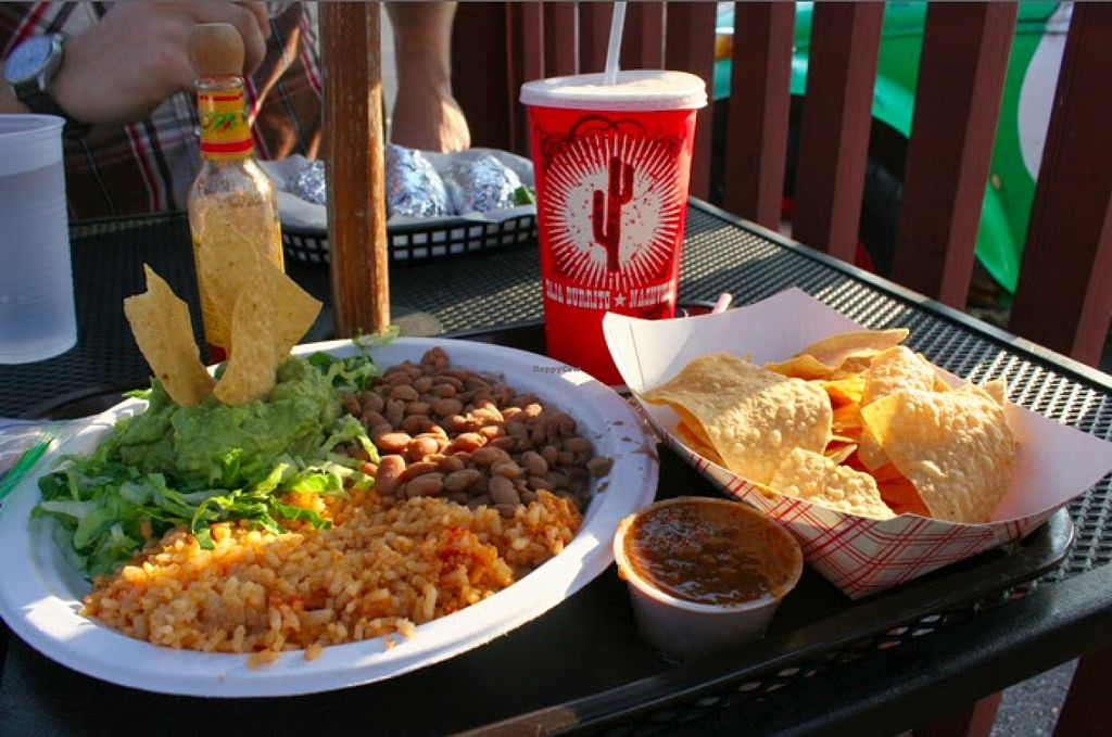 """Photo of Baja Burrito  by <a href=""""/members/profile/Raesock"""">Raesock</a> <br/>peasant plate <br/> August 5, 2015  - <a href='/contact/abuse/image/61560/112468'>Report</a>"""