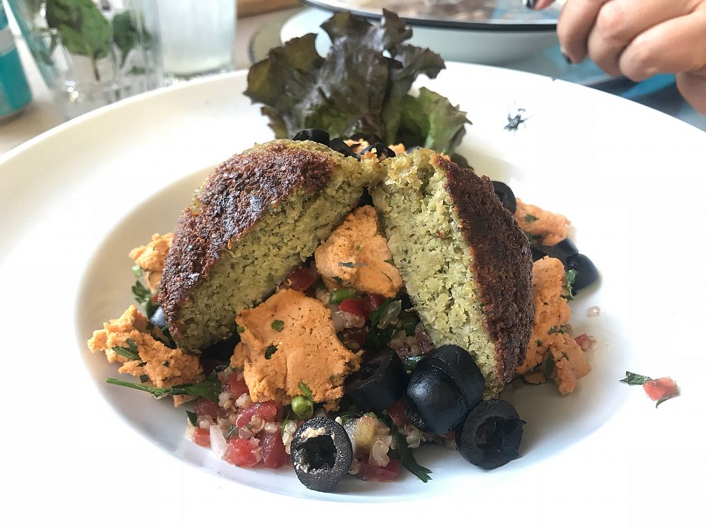 "Photo of Olivia  by <a href=""/members/profile/Xoch"">Xoch</a> <br/>Ensalada de quinoa con falafel ?? <br/> December 6, 2017  - <a href='/contact/abuse/image/61561/332747'>Report</a>"