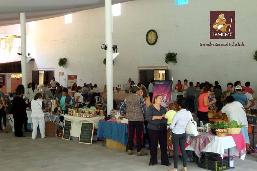 """Photo of Encuentro Comercial Sustentable Tameme  by <a href=""""/members/profile/community"""">community</a> <br/>Encuentro Comercial Sustentable Tameme <br/> August 5, 2015  - <a href='/contact/abuse/image/61566/112426'>Report</a>"""
