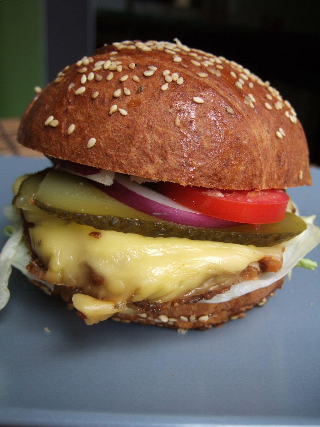 """Photo of RepaRetek  by <a href=""""/members/profile/reparetek"""">reparetek</a> <br/>vegan burger by RepaRetek <br/> August 23, 2015  - <a href='/contact/abuse/image/61582/114816'>Report</a>"""