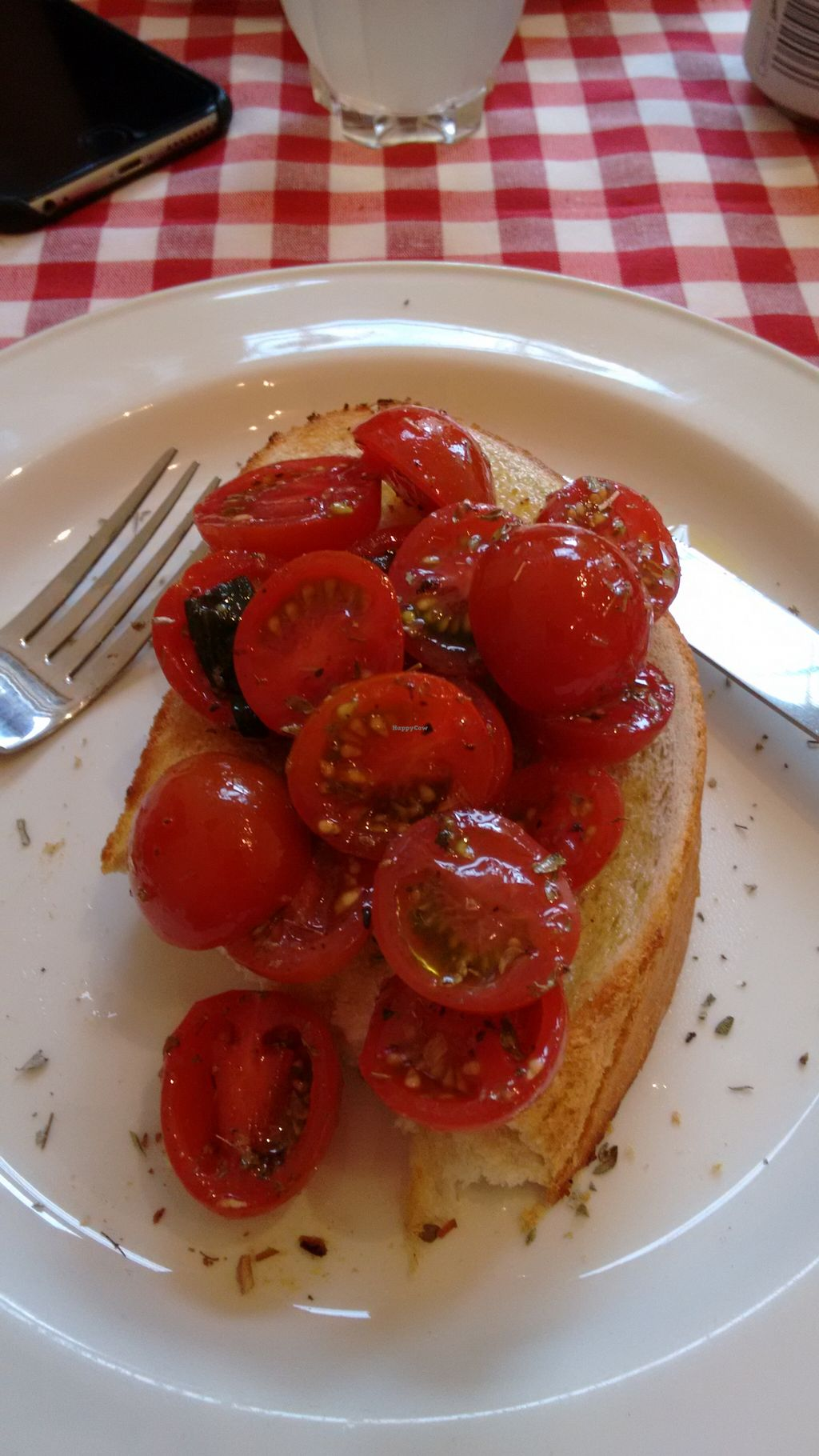"Photo of NovaPizza Vegetarian Kitchen  by <a href=""/members/profile/craigmc"">craigmc</a> <br/>Bruschetta <br/> August 28, 2015  - <a href='/contact/abuse/image/61590/115546'>Report</a>"