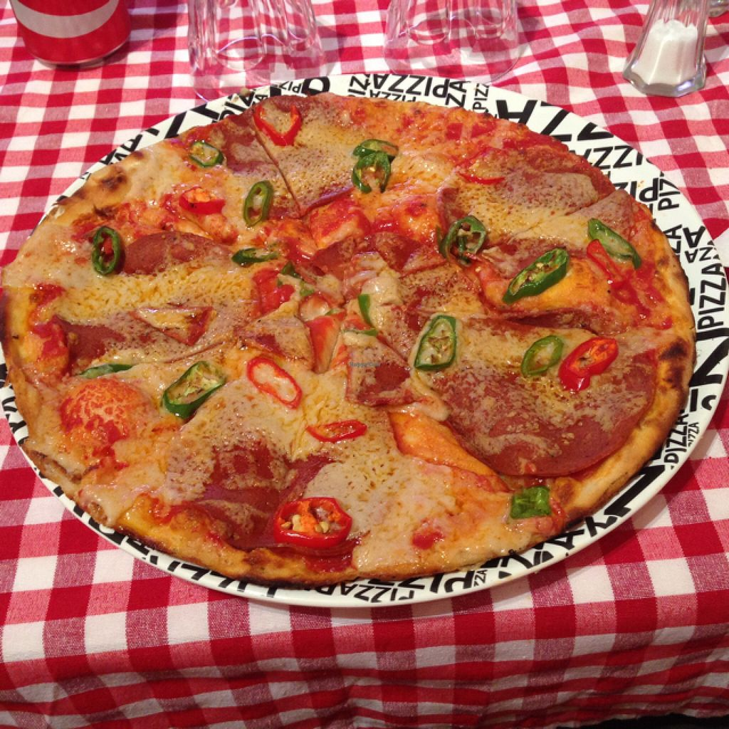 "Photo of NovaPizza Vegetarian Kitchen  by <a href=""/members/profile/najaheya"">najaheya</a> <br/>Vulcano, vegan.  <br/> October 6, 2015  - <a href='/contact/abuse/image/61590/120375'>Report</a>"