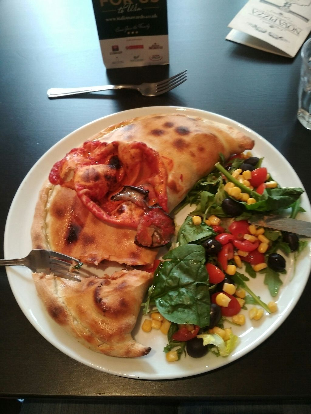 "Photo of NovaPizza Vegetarian Kitchen  by <a href=""/members/profile/PaolaNell"">PaolaNell</a> <br/>Vegan Calzone  <br/> August 15, 2017  - <a href='/contact/abuse/image/61590/292871'>Report</a>"