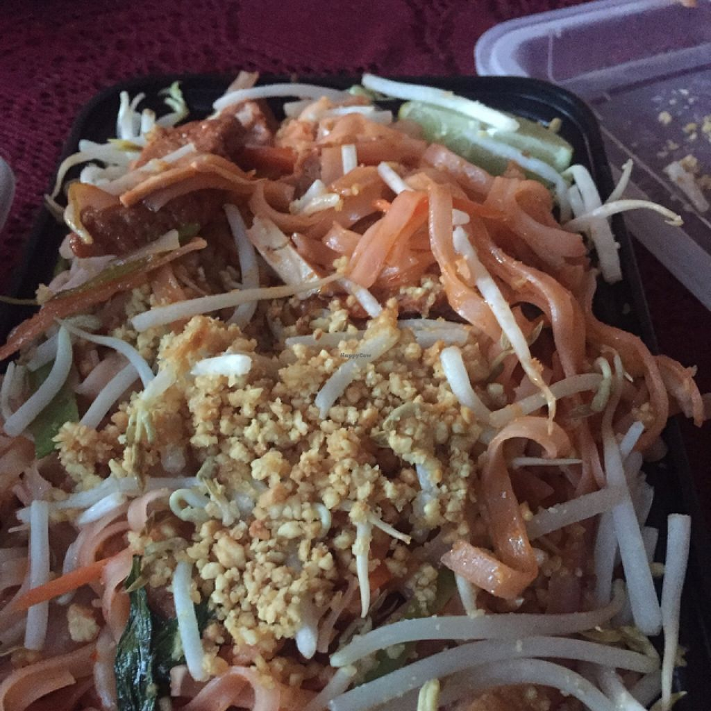 """Photo of Shangri-La Vegetarian  by <a href=""""/members/profile/SarahEatsPlants123"""">SarahEatsPlants123</a> <br/>Pad Thai is absolutely delicious!!!!! <br/> April 23, 2016  - <a href='/contact/abuse/image/61626/145899'>Report</a>"""