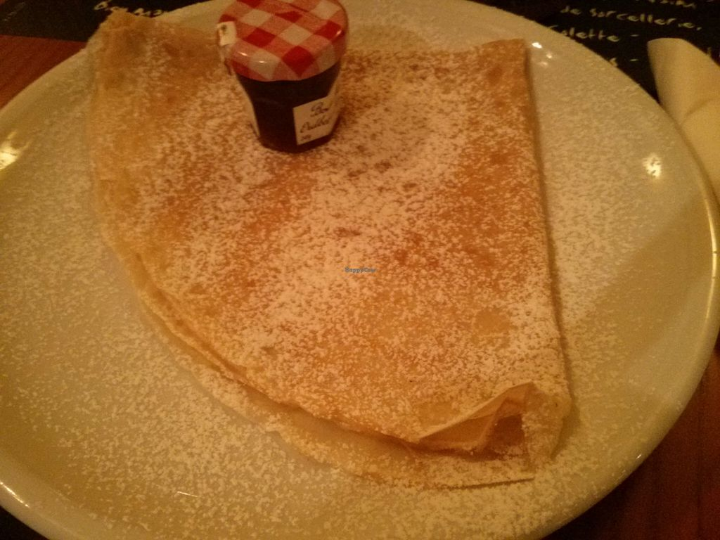 "Photo of Creperie du Palais   by <a href=""/members/profile/hadasalex"">hadasalex</a> <br/>crepe with fantastic strawberry jam <br/> August 11, 2015  - <a href='/contact/abuse/image/61634/113136'>Report</a>"