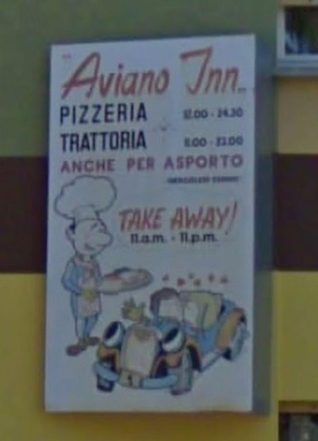"""Photo of Aviano Inn Trattoria-Pizzeria  by <a href=""""/members/profile/veg-geko"""">veg-geko</a> <br/>Trattoria-pizzeria Aviano Inn <br/> August 6, 2015  - <a href='/contact/abuse/image/61655/112574'>Report</a>"""