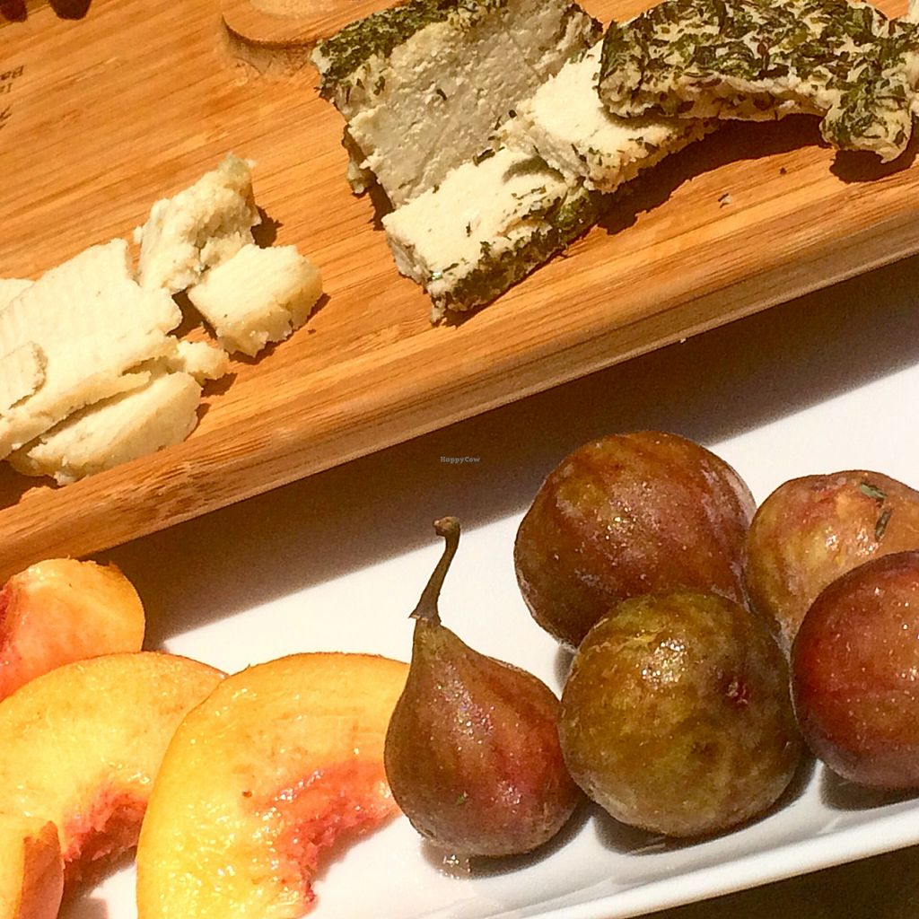"""Photo of Pure Abundance  by <a href=""""/members/profile/AllisonWunderland"""">AllisonWunderland</a> <br/>Pan Cashew Cheese with fresh figs <br/> August 12, 2015  - <a href='/contact/abuse/image/61697/113310'>Report</a>"""
