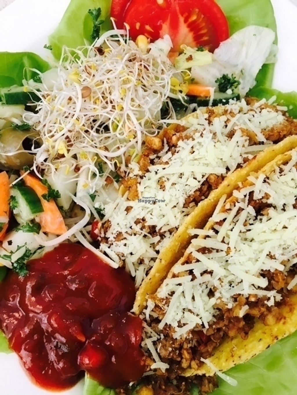 """Photo of CLOSED: Veganity Foods  by <a href=""""/members/profile/VeganityFoods"""">VeganityFoods</a> <br/>Meatless Minc Tacos by VeganityFoods <br/> October 13, 2016  - <a href='/contact/abuse/image/61705/181872'>Report</a>"""