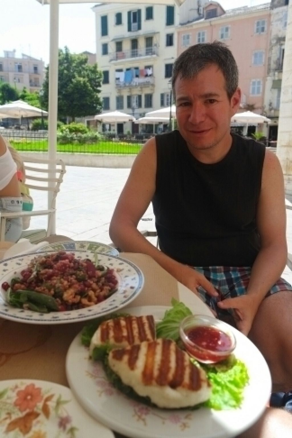 """Photo of Pane e Souvlaki  by <a href=""""/members/profile/mrrfrost"""">mrrfrost</a> <br/>light lunch <br/> August 1, 2016  - <a href='/contact/abuse/image/61709/164144'>Report</a>"""