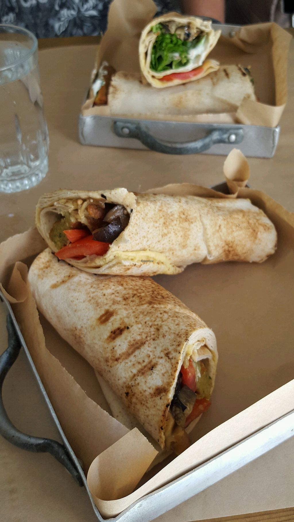 """Photo of Pane e Souvlaki  by <a href=""""/members/profile/JudithRuland"""">JudithRuland</a> <br/>Falafel roll <br/> September 19, 2017  - <a href='/contact/abuse/image/61709/306195'>Report</a>"""