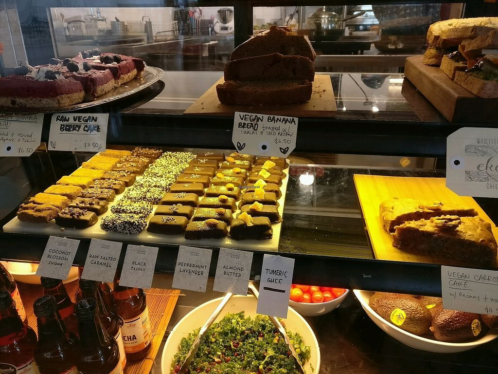 "Photo of Eka Wholefoods & Cafe  by <a href=""/members/profile/Aloo"">Aloo</a> <br/>sweet selection  <br/> October 7, 2017  - <a href='/contact/abuse/image/61727/312529'>Report</a>"